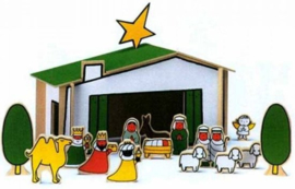 Nijntje kerststal