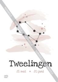 Tweelingen poster