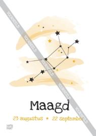 Maagd poster