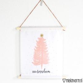 Textielposter ohh denneboom