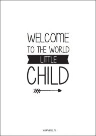 Poster welcome child