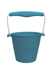 Bucket grey blue