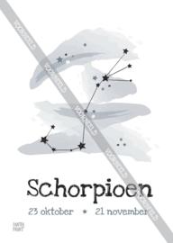 Schorpioen poster