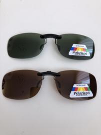 Zonneklep voor op de bril (polarized)