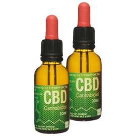 2x 30 ml CBD Olie