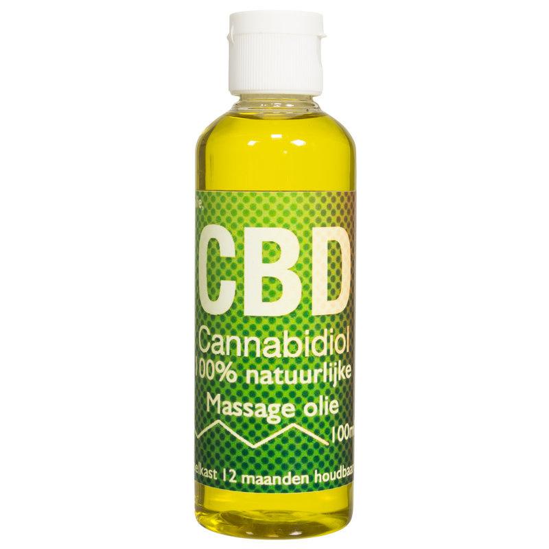 CBD Massage olie