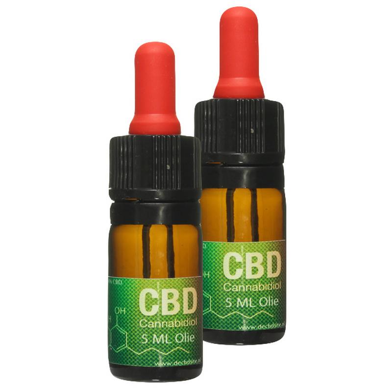 Set 2x CBD Oil 5ml discount