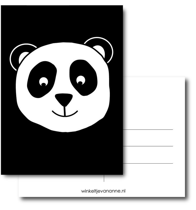 KAART A6 - panda