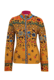 IVKO Embroidered Back Jacket Golden Yellow