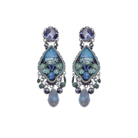 Ayala Bar Blue Planet, Calantha Earrings
