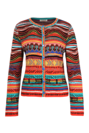 IVKO Woman - Indian Cardigan Red Orange