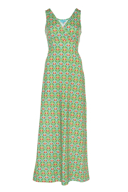 LaLamour Long Singlet Dress Lotus Turquoise Green
