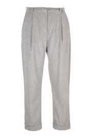 IVKO Woman - Solid Corduroy Pants Grey