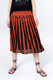 IVKO Woman - Skirt with Pleats Black
