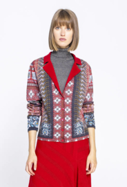 IVKO Printed Jacket Red