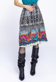 IVKO Skirt Printed Black