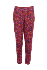 LaLamour Pant Oriënt Red Purple