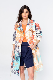 IVKO Woman - Coat with Print White