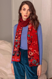 IVKO Woman - Scarf Floral Pattern Red