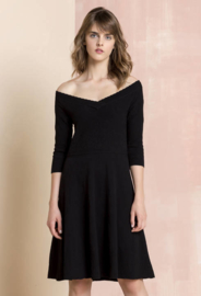 IVKO Structure Dress Black