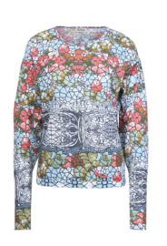 IVKO Woman - Printed Pullover White