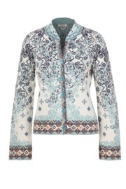 IVKO Woman - Jacket Jacquard Print Off-White - Pre-Collection 2020