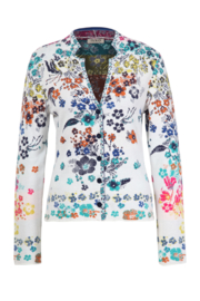 IVKO Woman - Jacket Floral Pattern White