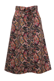 IVKO Woman - Skirt Floral Pattern Black - Pre-Collection 2020