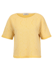 IVKO Woman - Pullover Structure Pattern Yellow - Pre-Collection 2020