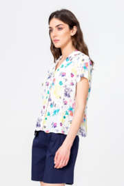 IVKO Woman - Shirt Floral Print White