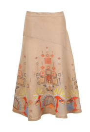IVKO Embroidery Skirt Tabac