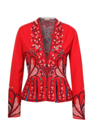 IVKO Woman - Intarsia Jacket Red