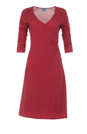 LaLamour Wrap Dress Pearly Red