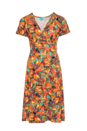 LaLamour Flared Cross Dress Tutti Frutti Multicolor