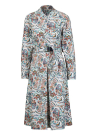 IVKO Woman - Dress Floral Pattern Off-White - Pre-Collectie 2020
