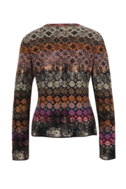 IVKO Woman - Cardigan Geometric Pattern Black - Pre-Collection 2020