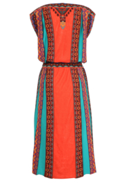 IVKO Woman - Brocade Dress Red Orange