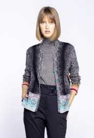IVKO Jacket Geometric Pattern Black