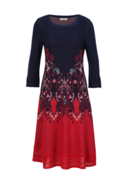 IVKO Woman - Jacquard Dress Marine