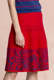 IVKO Jacquard Skirt Red