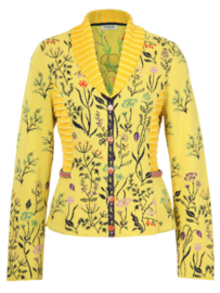 IVKO Woman - Floral Jacket Yellow