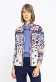 IVKO Embroidered Back Jacket Off-White