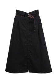 IVKO Woman - Zip-Down Skirt Black - Pre-Collection 2020