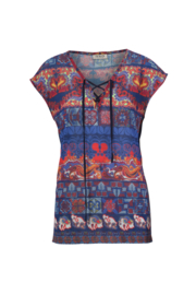 IVKO Woman - Pullover with Print Marine