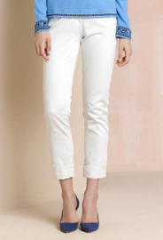 IVKO Woman - Solid Pants Off-White