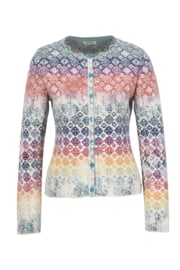 IVKO Woman - Cardigan Geometric Pattern Off-White - Pre-Collection 2020