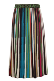 IVKO Woman - Striped Skirt Russet