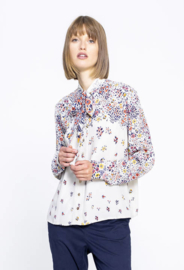 IVKO Printed Shirt Off- White