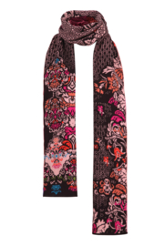 IVKO Woman - Scarf Floral Pattern Russet