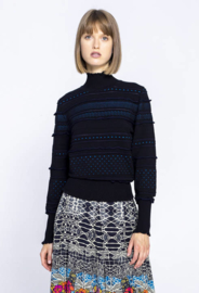 IVKO Pullover Roll-Neck Black
